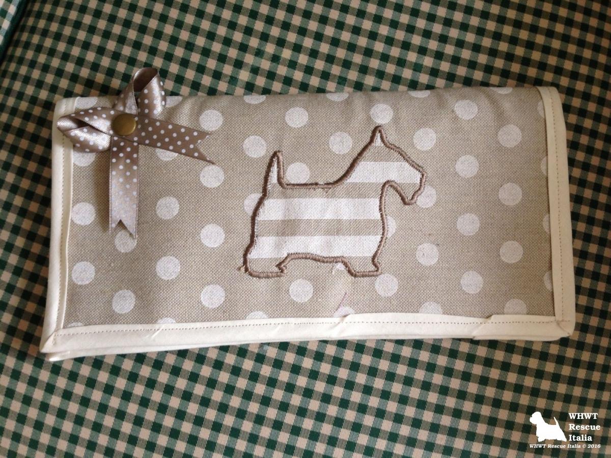 Porta libretto qualifiche - West Highland White Terrier Rescue Italia
